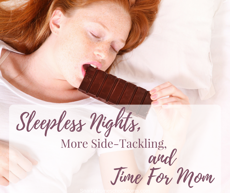 Episode 8 – Sleepless Nights, More Side-Tackling, and Time For Mom