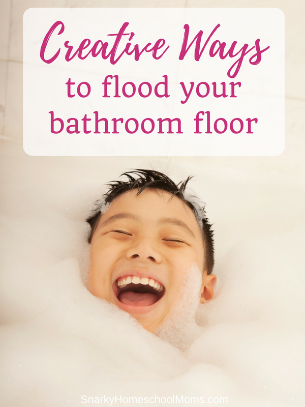 Episode 7- Creative Ways To Flood Your Bathroom Floor